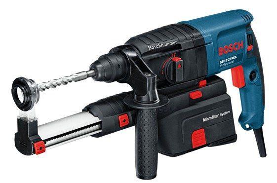 Bosch Professional Bohrhammer GBH 2 23 REA inkl. Absaugeinheit für 159,99€ (statt 219€)