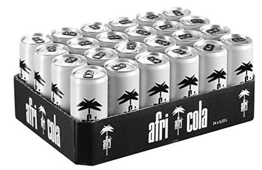 24er Pack afri cola mit und ohne Zucker (je 330ml) ab 14,80€ inkl. Pfand (statt 25€)   Sparabo