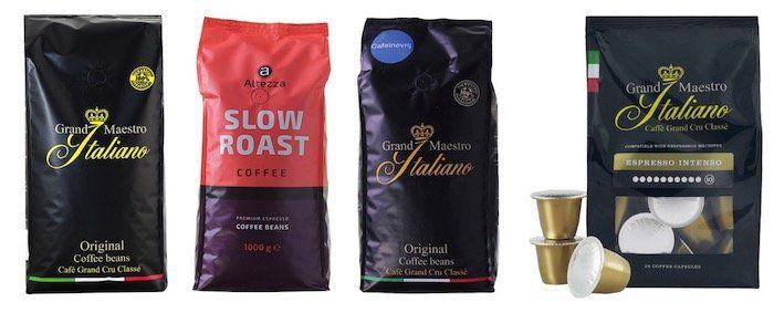 Abgelaufen! Kaffeevorteil Herbst Sale bis 20€ extra Rabatt   günstiger Grand Maestro Italiano, Altezza Celeste dOro & mehr