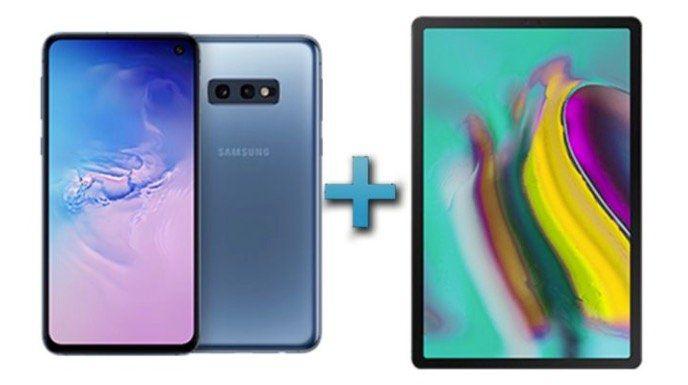 🔥 Samsung 2 für 1 Aktion   z.B. Galaxy S10e und Tab S5e LTE für zusammen 749€ (statt 868€)