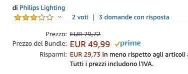 Philips Hue White and Color Ambiance E27 + Hue Bewegungssensor für 52,88€ (statt 75€)