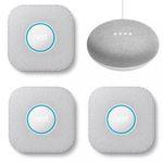 3er Pack Google Nest Protect Rauch- und Kohlenmonoxidmelder + Home Mini für 244,95€ (statt 330€)