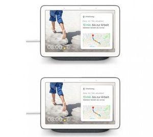 2er Pack Google Nest Hub Smart Display mit Sprachsteuerung für 134,95€(statt 178€)