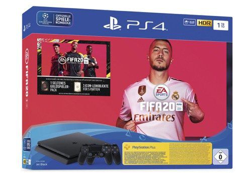 Abgelaufen! Sony PlayStation 4 1TB + 2. Controller + EA Sports FIFA 20 für 145,25€ (statt 320€)
