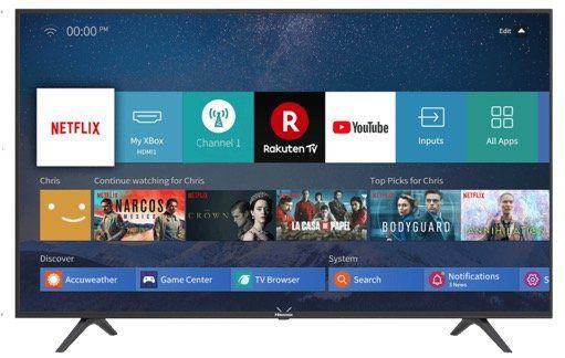 Hisense H65B7100 65 UltraHD Smart Fernseher ab 488,12€ (statt 535€)