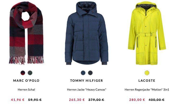 🔥 engelhorn: 30% Rabatt auf Hilfiger, GANT, Ralph Lauren etc.   z.B. Hilfiger Jacke Heavy Canvas für 260€ (statt 379€)