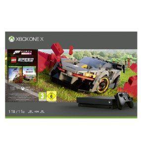 Xbox One X 1TB + Forza Horizon 4 LEGO Speed Champions für 287,66€ (statt 390€)