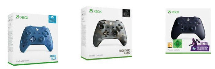 Microsoft Xbox Wireless Special Edition Controller ab 39,99€ (statt 67€)   z.B. Fortnite Special Edition