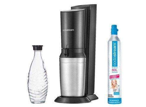 Sodastream Wochen bei Lidl   z.B. Sodastream Crystal 2.0 mit Glasflasche für 79,99€ (statt 95€)