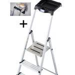 Krause Stufen-Stehleiter Secury mit MultiGrip-System für 59,99€ (statt 80€)