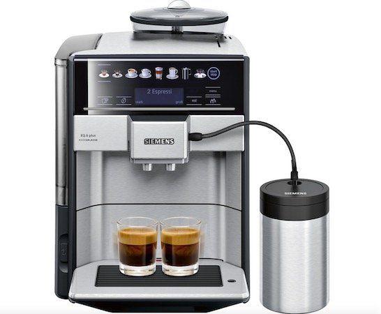 Siemens TE657F03DE Kaffeevollautomat für 699,30€ (statt 748€)