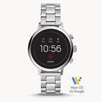 Fossil Q Venture HR Damen Edelstahl-Smartwatch für 136,50€ (statt 237€)