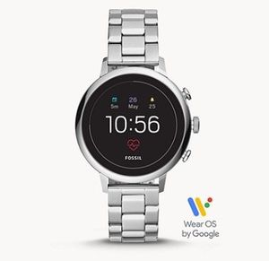 Fossil Q Venture HR Damen Edelstahl Smartwatch für 136,50€ (statt 237€)
