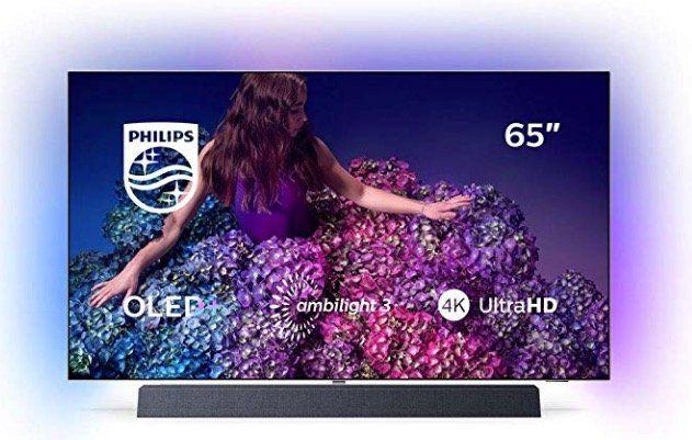 Nur 5 Stück! Philips 65OLED934 inkl. Soundbar für 2.763,94€ (statt 2.536€) + 518€ in Superpunkten