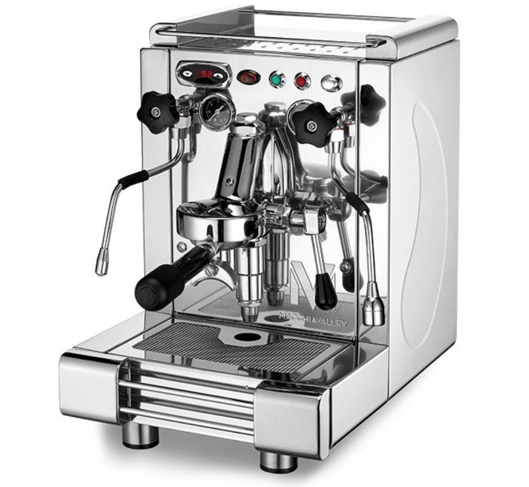 Macchiavalley Excelsia VB Edelstahl Espressomaschine für 1.299€ (statt 1.799€)