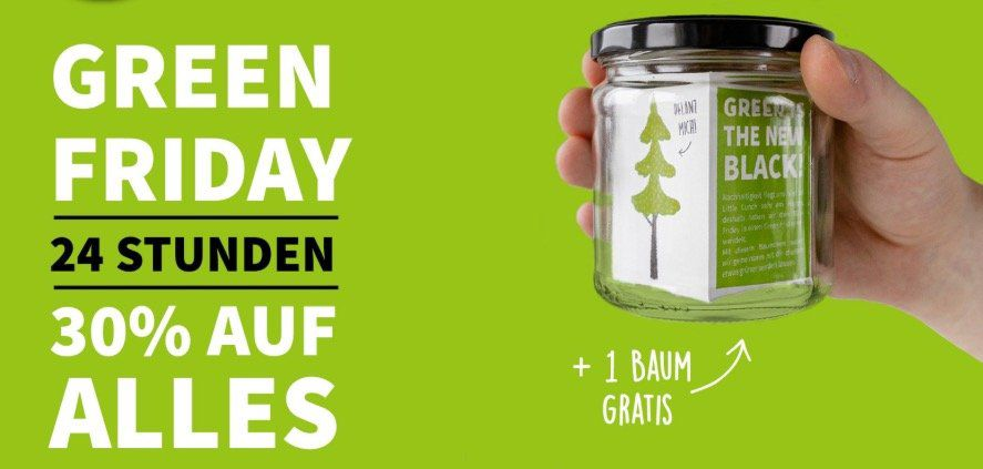 Little Lunch mit 30% Rabatt + gratis Baum im Glas