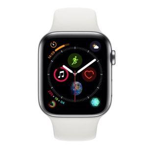 Apple Watch Series 4 GPS+LTE 44mm in Weiß für 479€ (statt 599€)