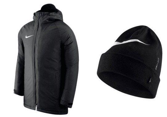 Nike Herren Winterjacke Academy 18 SDF + Wintermütze für 61,95€(statt 87€)