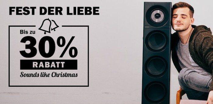 Teufel Sounds like Christmas mit bis 30% Rabatt   z.B. Bamster Pro und Move Pro für 199,99€ (statt 285€)