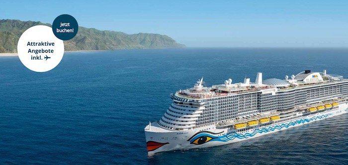 🚢 AIDA Winterwunder: 7 Tage Mittelmeer 479€   Kanaren 579€   Orient 869€   alle inkl. Flug