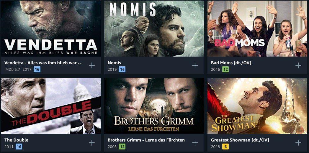 Amazon Prime Deals: über 300 Filme für je 0,99€ in HD ausleihen