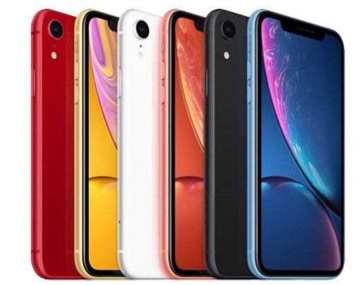 iPhone XR mit 128GB für 469,90€ (statt neu 650€)   nur Rot und Gelb
