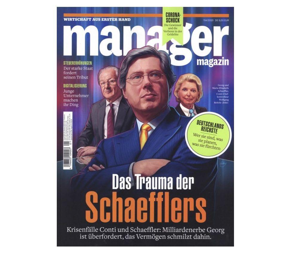 3 Ausgaben Manager Magazin für einmalig 6€ (statt 27€) – automatisch auslaufend!