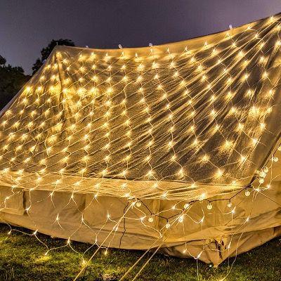 30% Rabatt auf Vingo LED Lichtervorhänge   z.B. Lichternetz 3x2 Meter für 12,59€ (statt 18€)