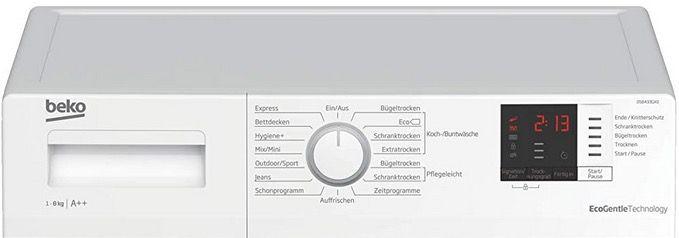 Beko DS8433GX0 Wärmepumpentrockner mit 8kg für 379€(statt 419€)
