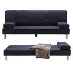 """Dreisitzer-Sofa """"Esther"""" mit Schlaffunktion in Grau bei Selbstabholung für 69,30€ (vorher 99€)"""