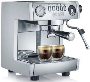 Graef Marchesa ES 850 Siebträger Kaffeemaschine mit Kapseladapter für 329€ (statt 449€)
