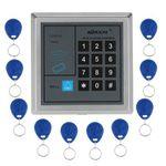 KKmoon Tür-Zutrittskontrollsystem inkl. 10 RFID-Schlüsselanhänger für 9,74€ (statt 15€)