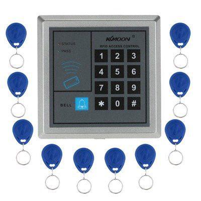 KKmoon Tür Zutrittskontrollsystem inkl. 10 RFID Schlüsselanhänger für 9,74€ (statt 15€)
