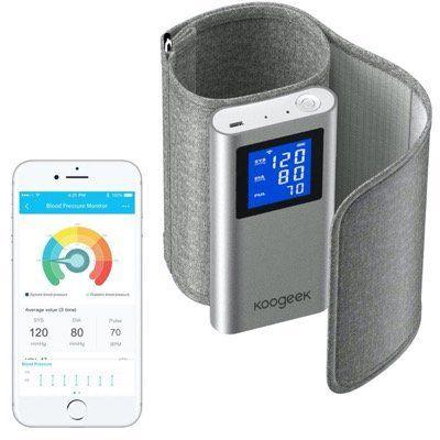 Koogeek Oberarm Blutdruckmessgerät WiFi oder Bluetooth mit FDA Zertifizierung und App für 38,99€ (statt 60€)