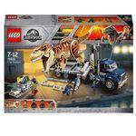 LEGO Jurassic World – 75933 T-Rex Transport 609 Teile Set für 54,99€ (statt 78€)