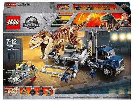 LEGO Jurassic World   75933 T Rex Transport 609 Teile Set für 54,99€ (statt 78€)