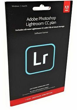 Adobe Photoshop Lightroom CC mit 1TB UK (1 Jahr) für 39,99€ (statt 50€)