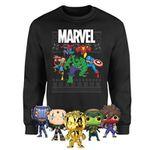 Marvel Christmas-Sweatshirt inkl. 5 Funko Pops für 28,48€ (statt 67€)