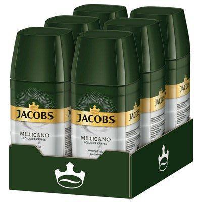 6x 100g JACOBS Kaffee Millicano (löslicher Kaffee) für 24,95€ (statt 31€)