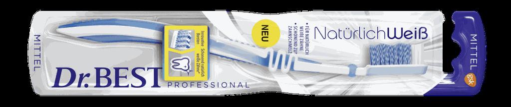 """Dr. Best """"Natürlich Weiß Zahnbürste"""" kostenlos testen"""