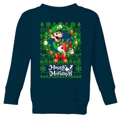 Offizielle Nintendo Weihnachtspullover inkl. Nintendo Print für 19,99€
