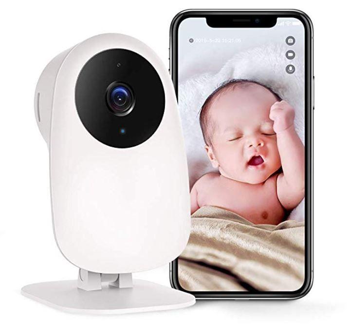 Nooie Überwachungskamera 1080P Indoor mit App und Bewegungungserkennung für 19,99€ (statt 40€)