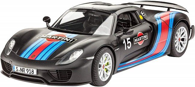Revell Modellbausatz Porsche 918 Weissach Sport im Maßstab 1:24 für 16,80€ (statt 22€)