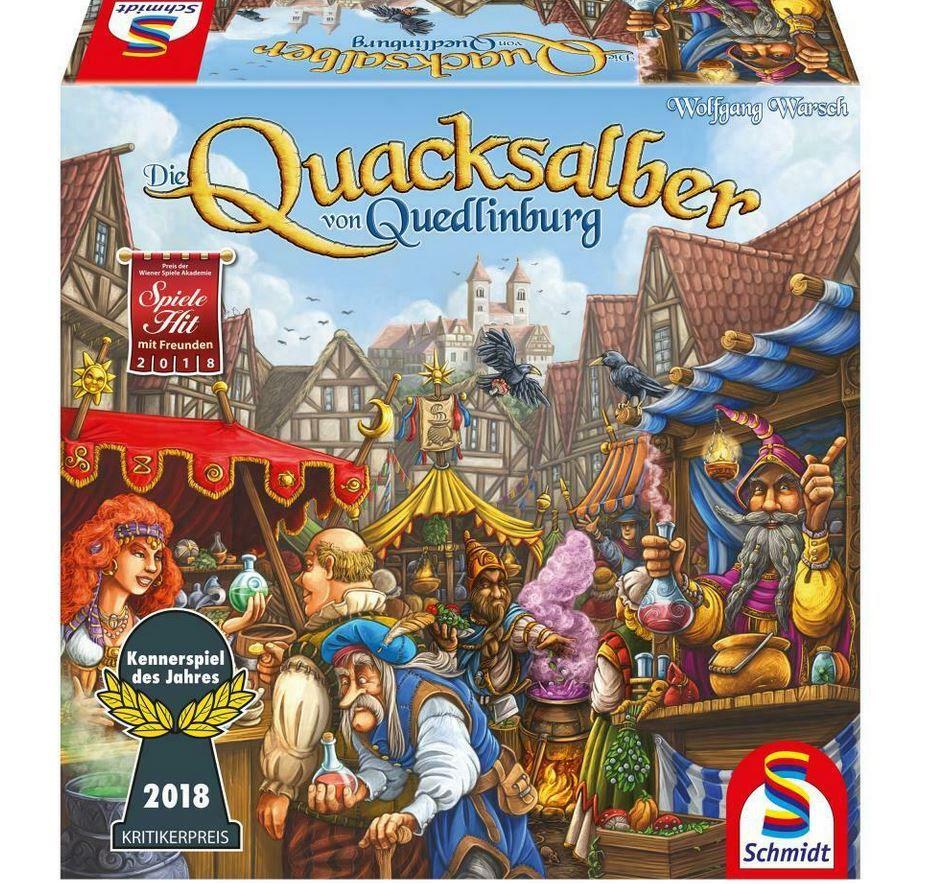 Schmidt Spiele Die Quacksalber von Quedlinburg + Erweiterung Die Kräuterhexen für 39,90€ (statt 58€)