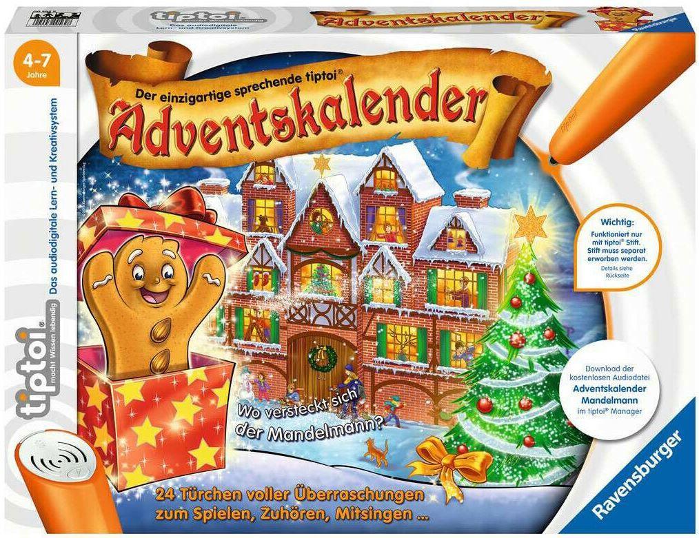 RAVENSBURGER tiptoi Mandelmann Adventskalender 2019 für 17,99€ (statt 21€)