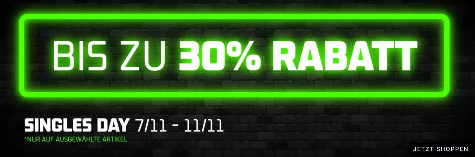 Foot Locker Singles Day: 30% Rabatt auf ausgewählte Artikel   günstige Sneaker & Co.