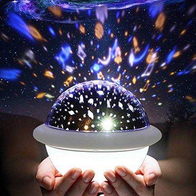 SOLMORE dimmbarer Sternenhimmel 2in1 LED Projektor mit 9 LEDs und 6 Modi für 11,39€ (statt 19€)