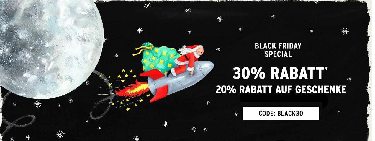 The Body Shop Black Weekend heute mit 30% Rabatt + 20% auf Geschenke