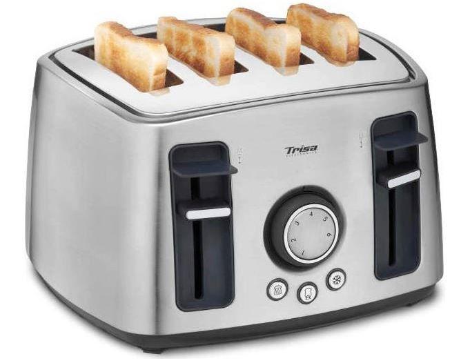 TRISA Familiy Toaster 4 Scheiben für 33,94€ (statt 56€)
