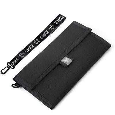 XIANGUO Reisepasshülle aus wasserdichtem Nylon mit RFID Schutz inkl. Handschlaufe für 8,39€ (statt 14€)